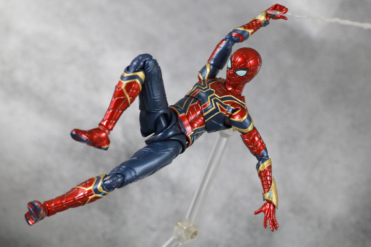 S.H.フィギュアーツ アイアンスパイダー FINAL BATTLE EDITION レビュー アクション