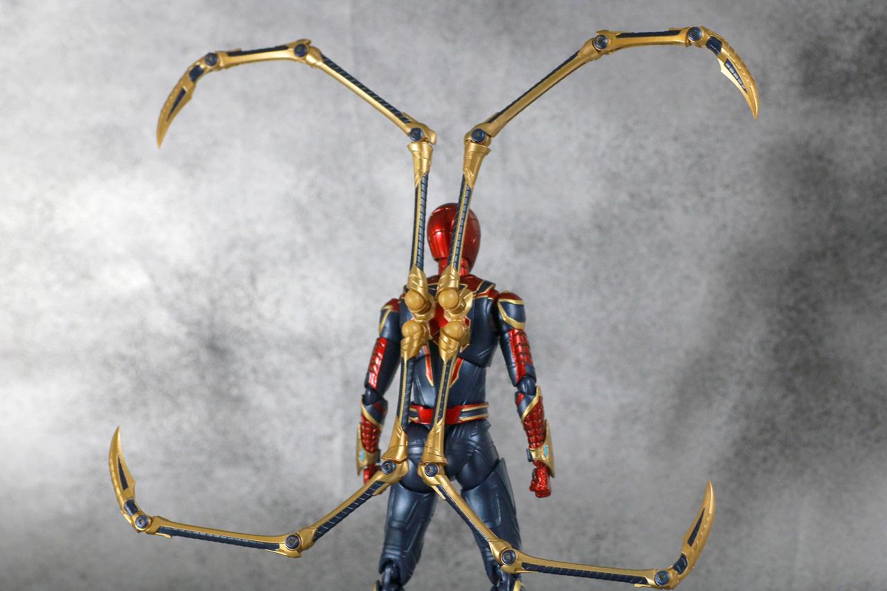 S.H.フィギュアーツ アイアンスパイダー FINAL BATTLE EDITION レビュー 付属品 スパイダー・レッグ ピンサー