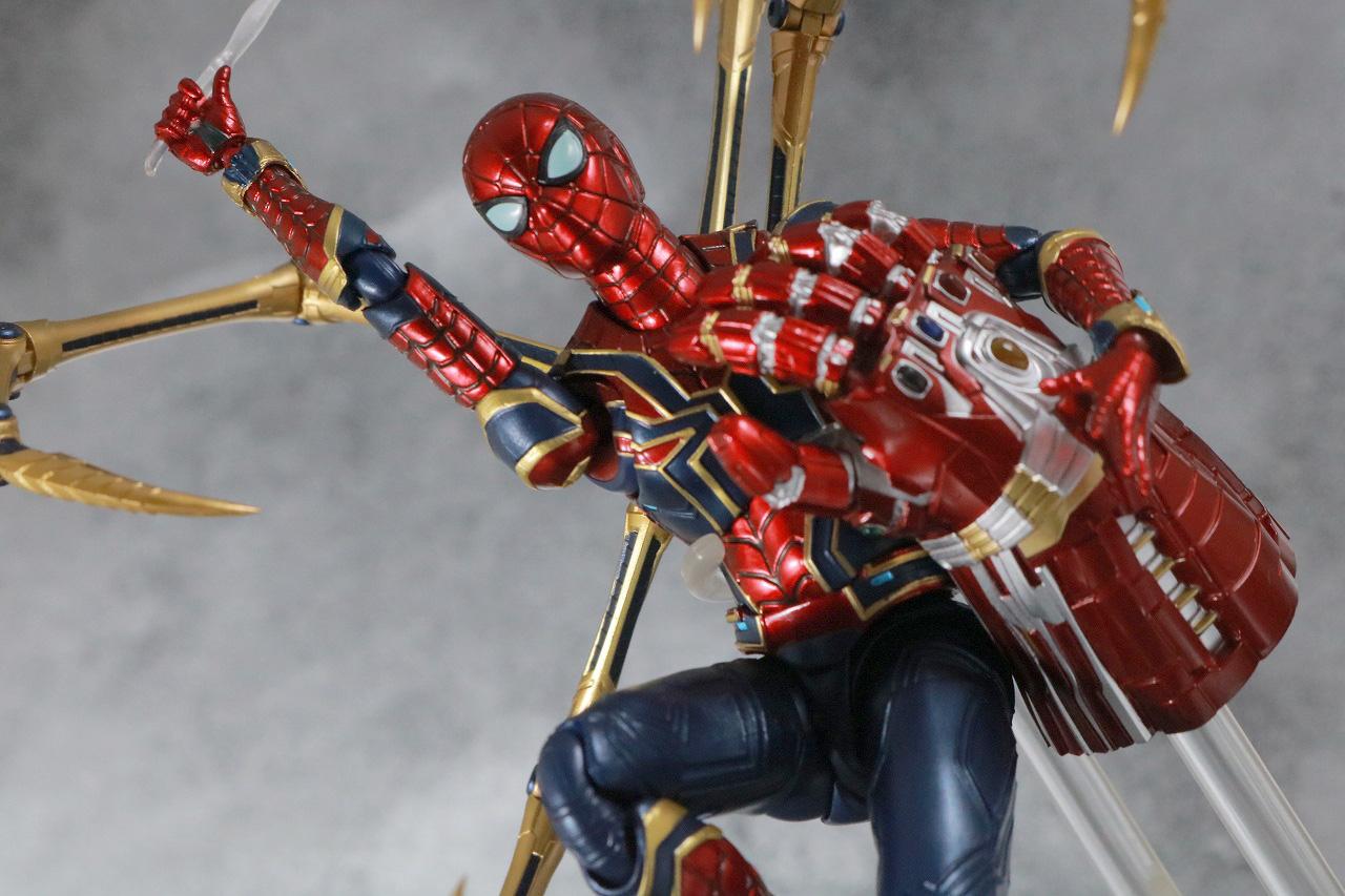 S.H.フィギュアーツ アイアンスパイダー FINAL BATTLE EDITION レビュー アクション ナノガントレット