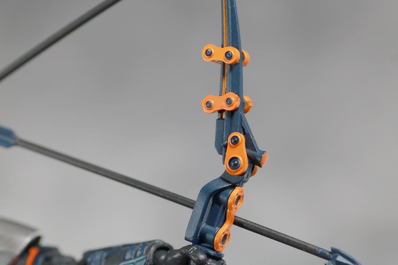 S.H.フィギュアーツ タスクマスター レビュー 付属品 弓矢