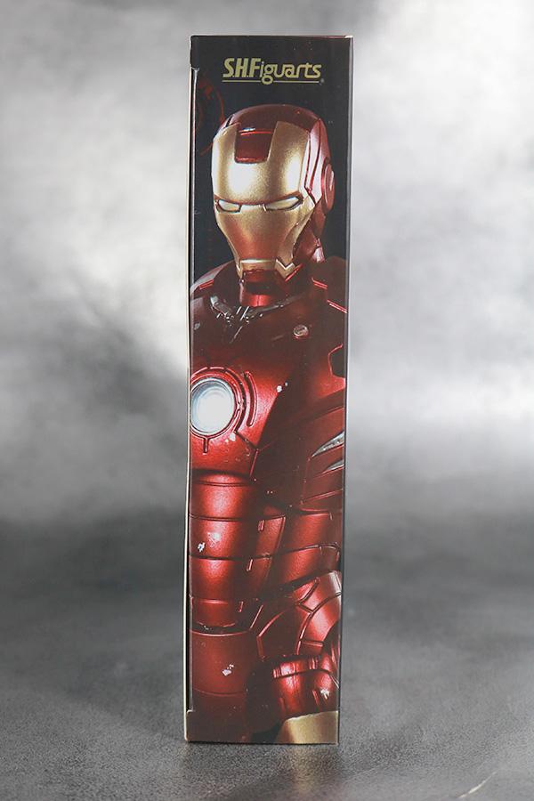 S.H.フィギュアーツ アイアンマン マーク3 Birth of Iron Man レビュー パッケージ