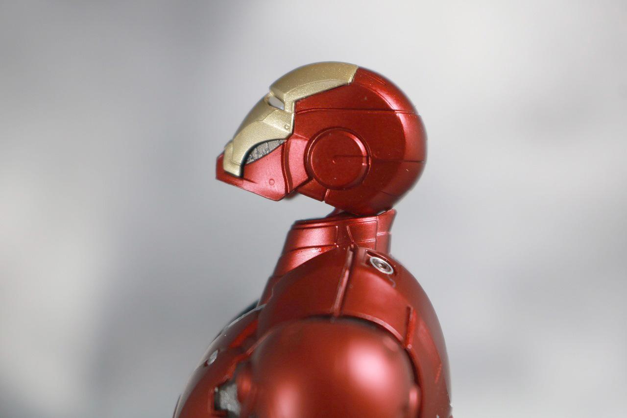 S.H.フィギュアーツ アイアンマン マーク3 Birth of Iron Man レビュー 可動範囲