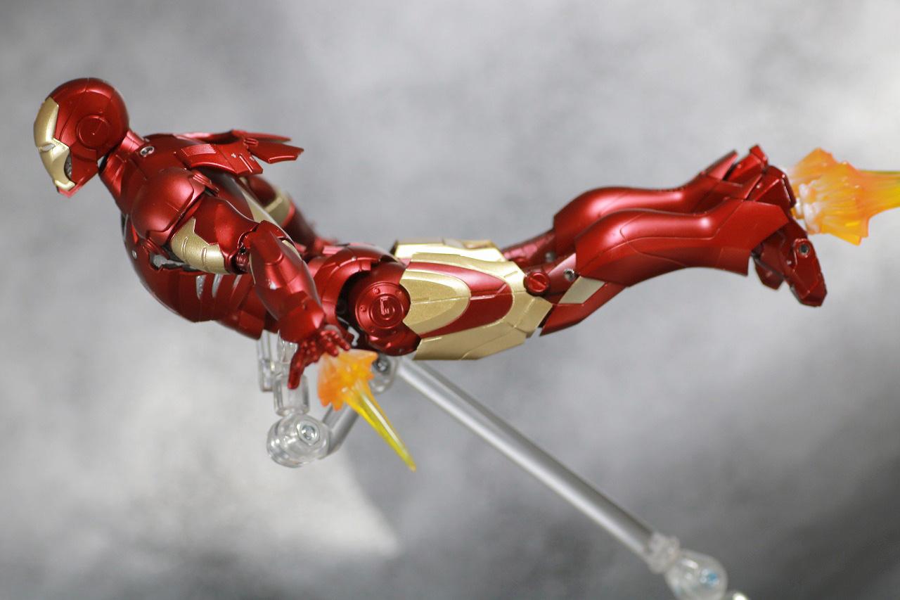 S.H.フィギュアーツ アイアンマン マーク3 Birth of Iron Man レビュー アクション