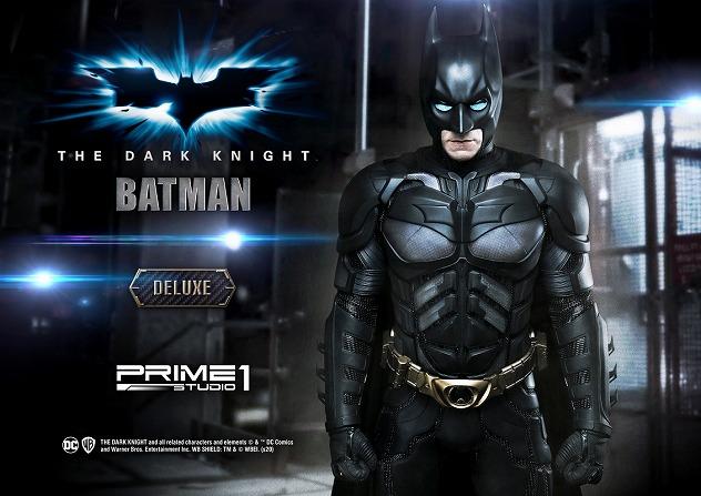 プライム1スタジオ HDミュージアムマスターライン バットマン ダークナイト 1/2 スタチュー