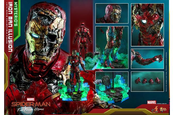 """ホットトイズ新作!""""ゾンビ""""アイアンマンが2022年に発売!ミステリオの幻想が立体化!"""