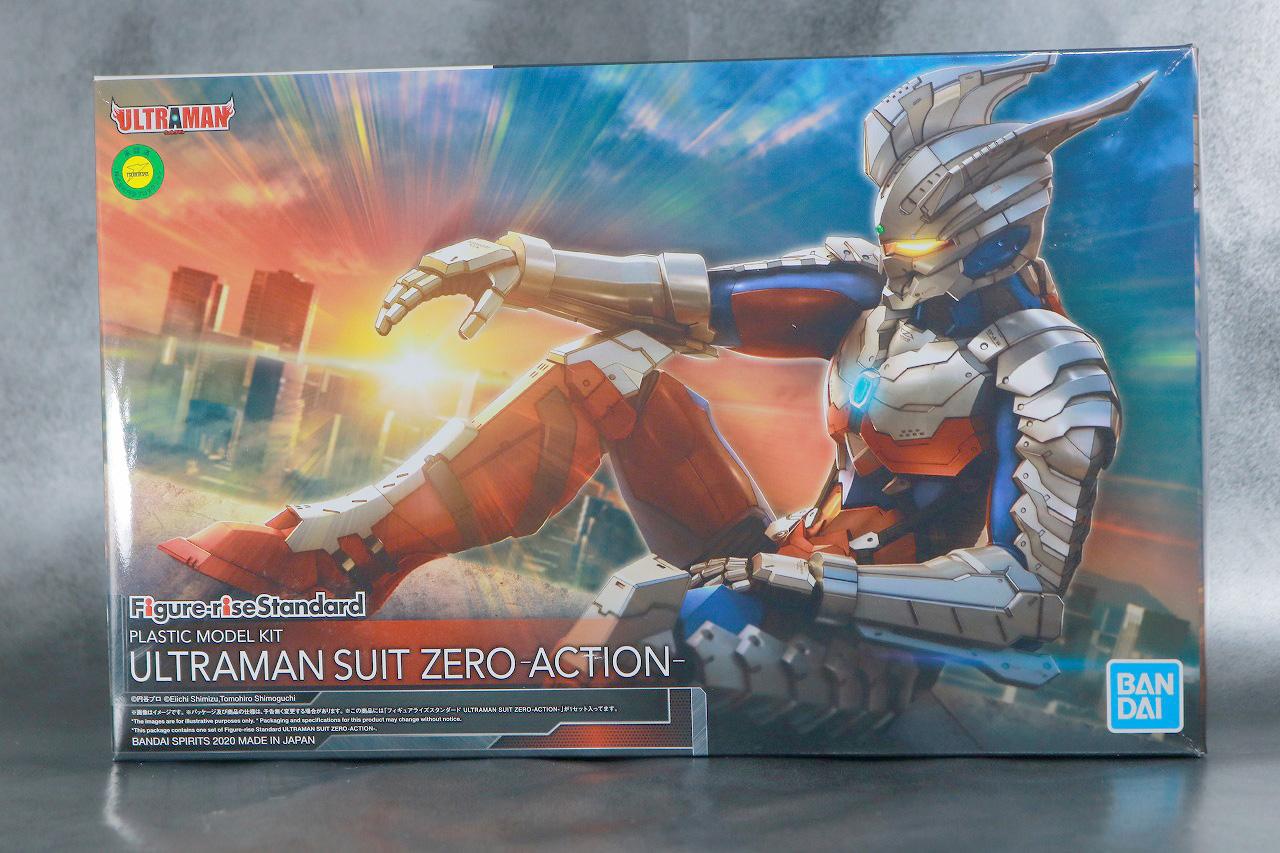 Figure-rise Standard ULTRAMAN ZERO SUIT ウルトラマンゼロ レビュー パッケージ