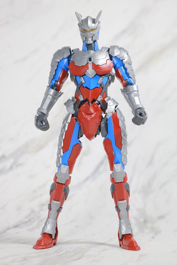 Figure-rise Standard ULTRAMAN ZERO SUIT ウルトラマンゼロ レビュー 全身
