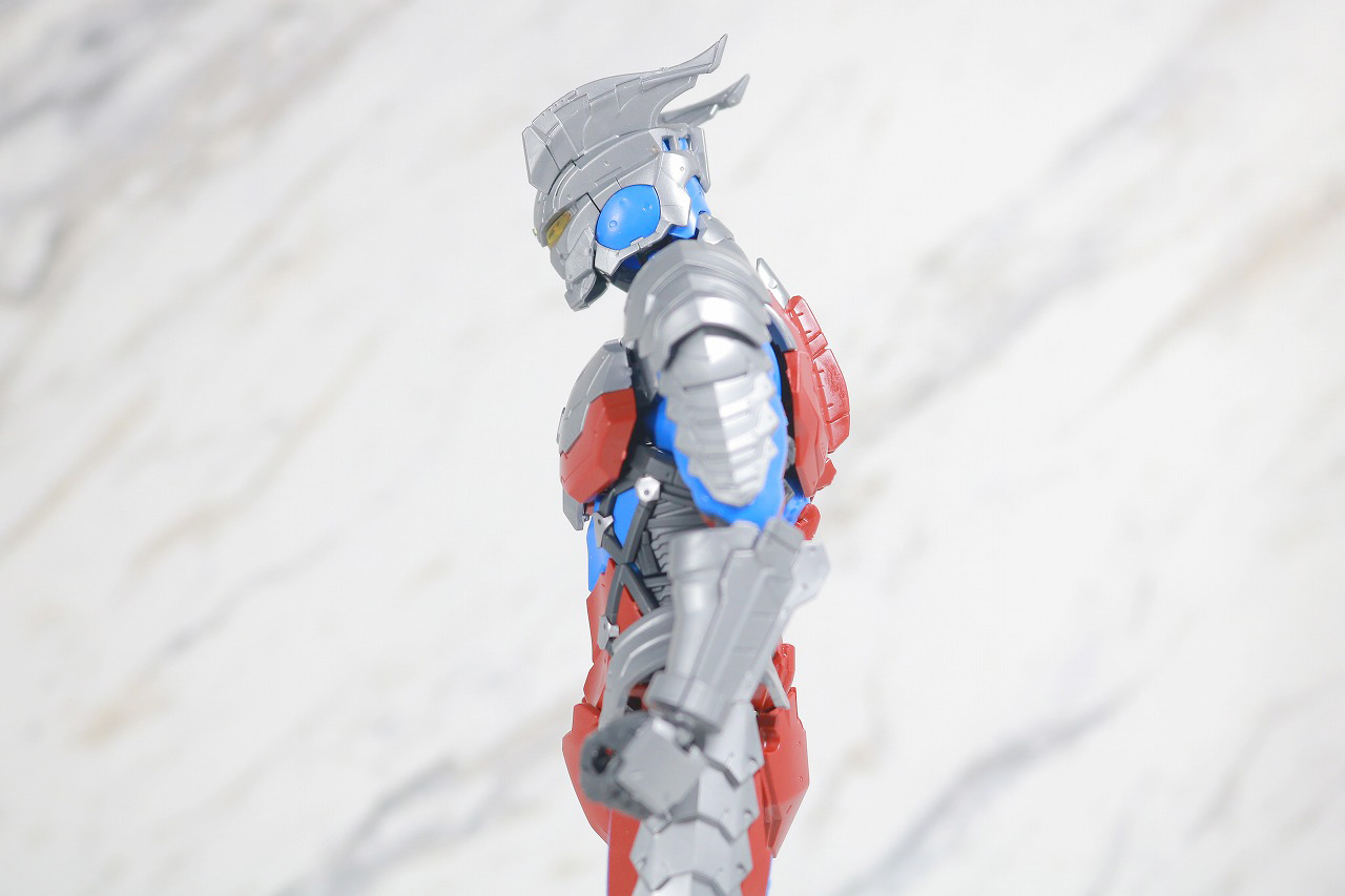 Figure-rise Standard ULTRAMAN ZERO SUIT ウルトラマンゼロ レビュー 可動範囲