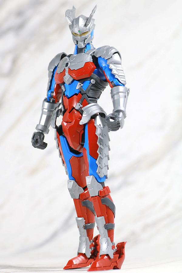 Figure-rise Standard ULTRAMAN ZERO SUIT ウルトラマンゼロ レビュー アクション