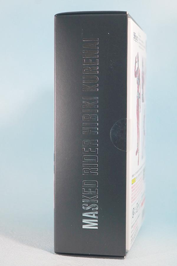 S.H.フィギュアーツ 仮面ライダー響鬼紅 真骨彫製法 レビュー パッケージ