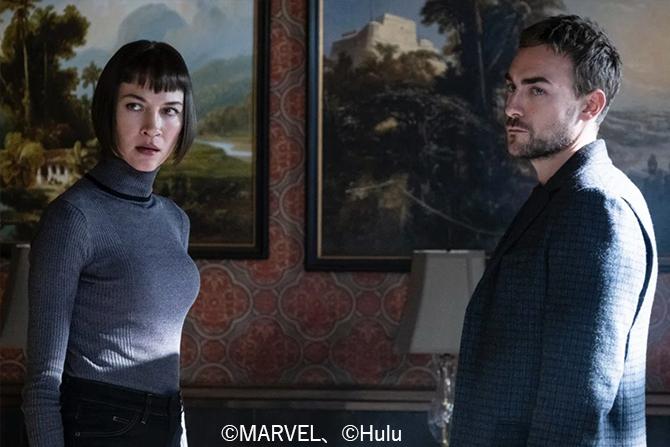 マーベルドラマ『ヘルストローム』から初の場面写真が公開 - ダイモン&アナ・ヘルストロームが登場