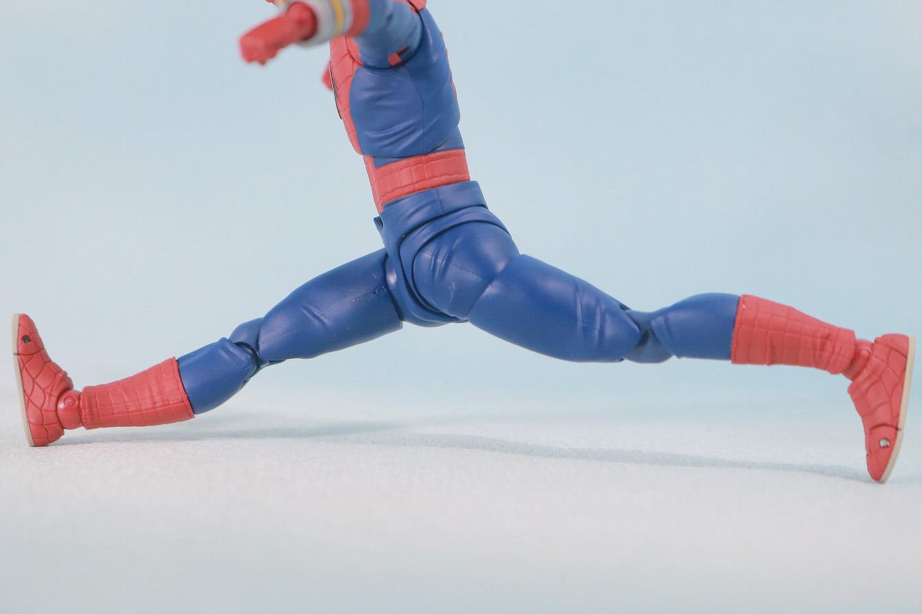 S.H.フィギュアーツ スパイダーマン 東映版 レビュー 可動範囲