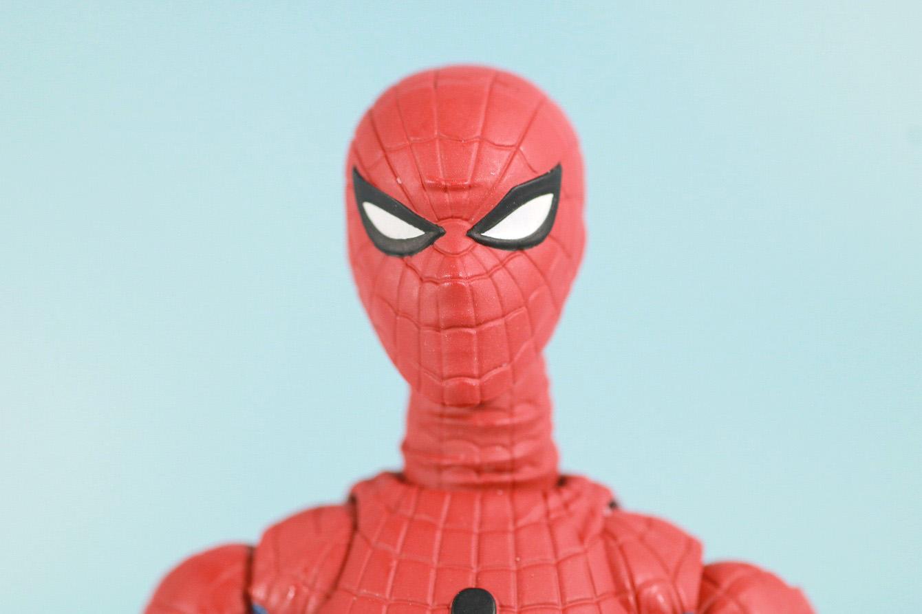 S.H.フィギュアーツ スパイダーマン 東映版 レビュー 付属品 交換用頭部パーツ
