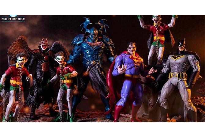 DCマルチバース新作!フーラフスバットマンやロビン、ス―パーマン、マーシレス登場