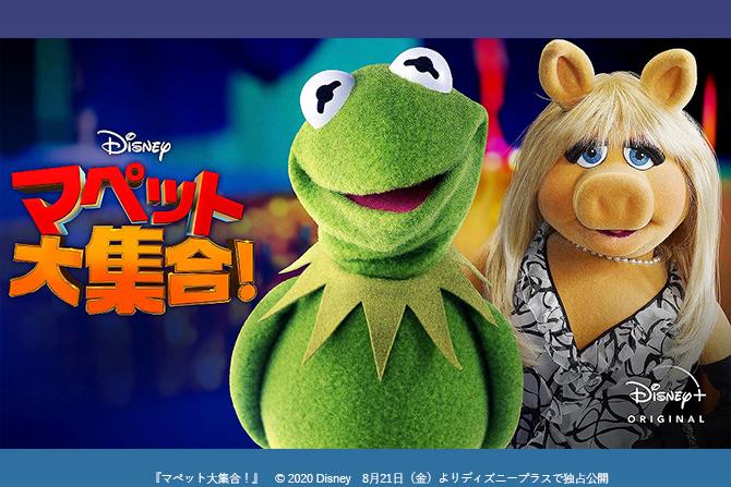シリーズ初の台本無し!あの『マペッツ』がディズニープラスに登場!「マペット大集合!」8/21(金)より、配信開始!