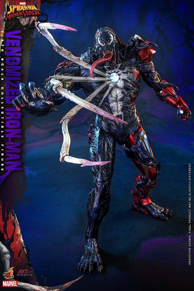 アーティスト・コレクション『スパイダーマン:マキシマム・ヴェノム』 アイアンマン(ヴェノム版)