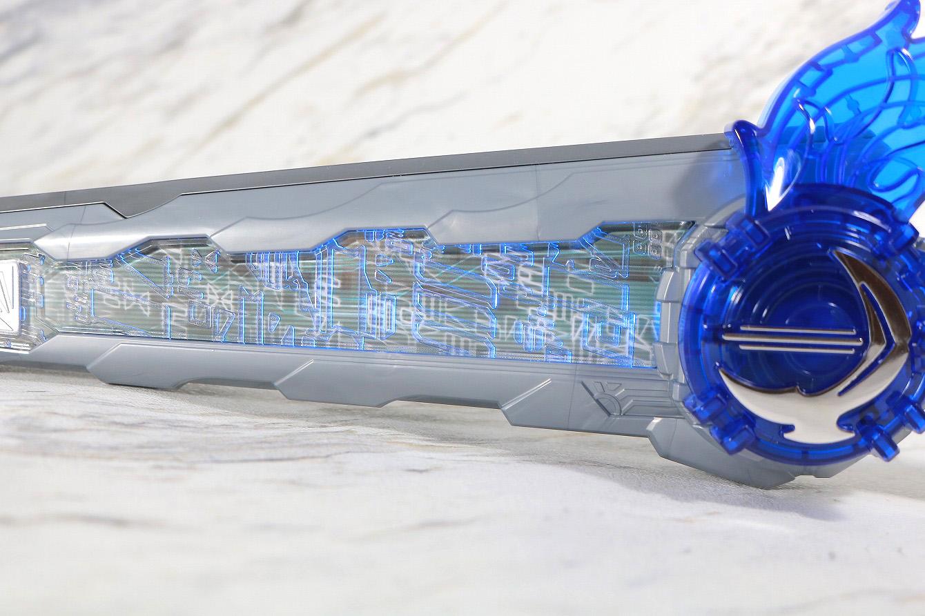 DX聖剣ソードライバー&水勢剣流水エンブレム&ライオン戦記ワンダーライドブック レビュー 水勢剣流水エンブレム