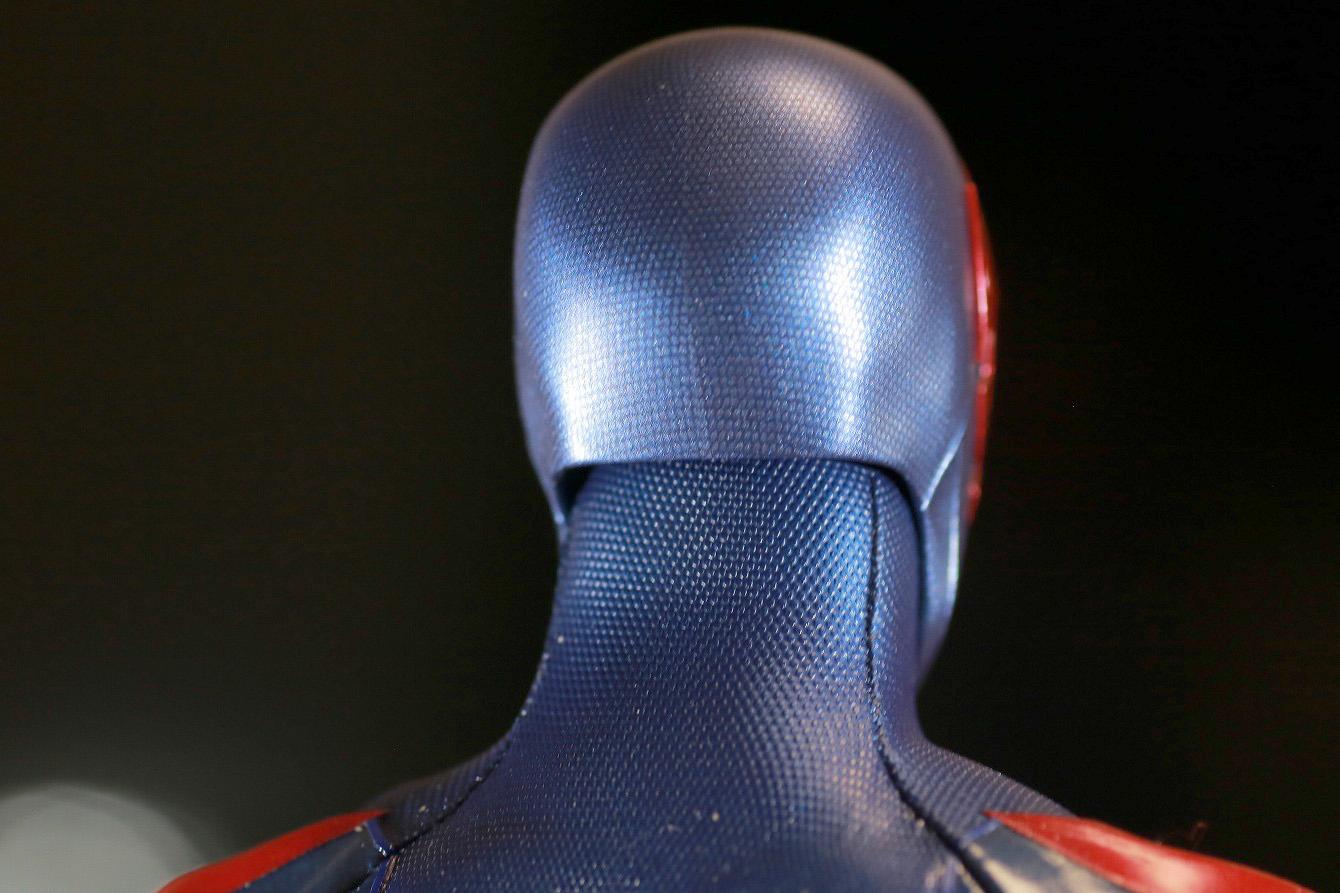 ホットトイズ ビデオゲームマスターピース スパイダーマン2099 レビュー 本体 頭部