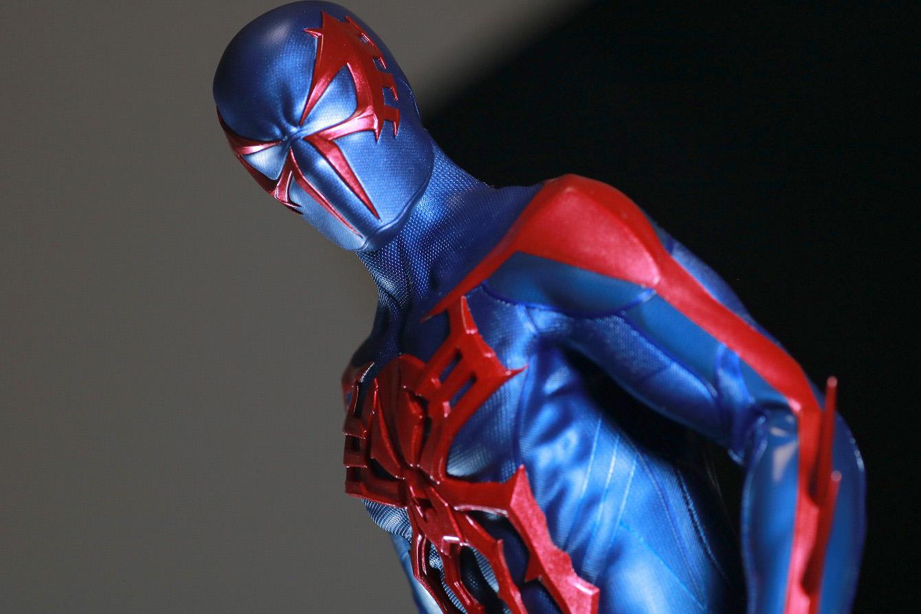 ホットトイズ ビデオゲームマスターピース スパイダーマン2099 レビュー アクション