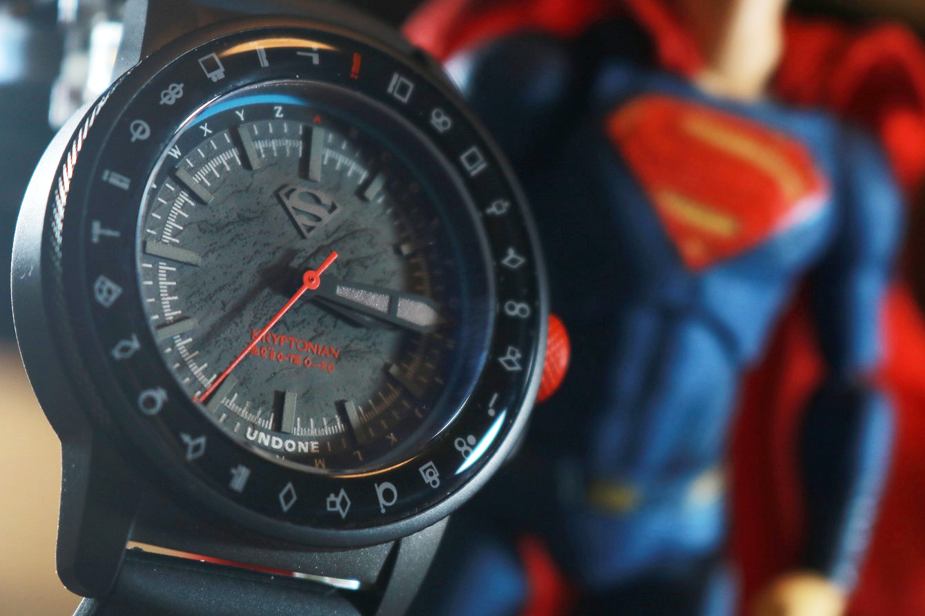 UNDONE SUPERMAN:THE KRYPTONIAN DECRYPTOR 腕時計 レビュー スーパーマン コラボ