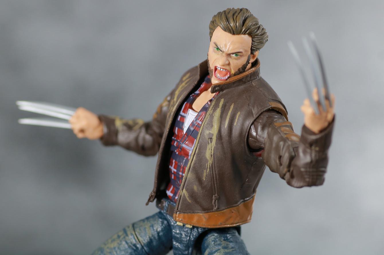 マーベルレジェンド ウルヴァリン 実写版 X-MEN:ZERO レビュー アクション