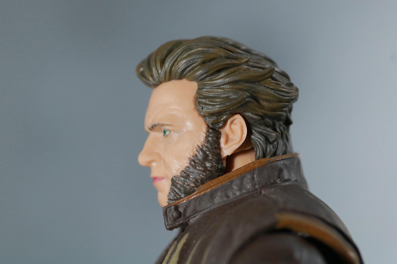 マーベルレジェンド ウルヴァリン 実写版 X-MEN:ZERO レビュー 付属品 差し替え頭部
