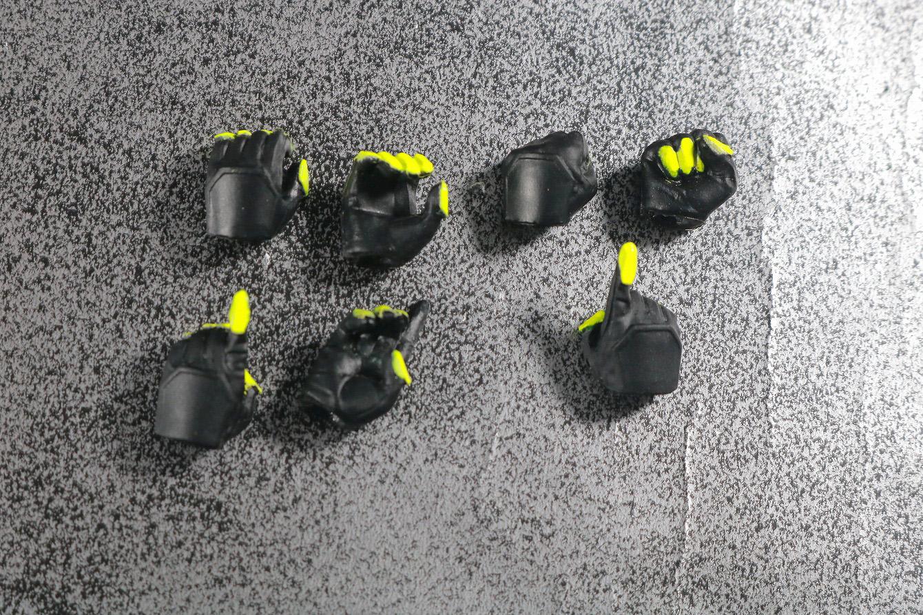 S.H.フィギュアーツ 仮面ライダーゼロワン シャイニングアサルトホッパー レビュー 付属品 手首