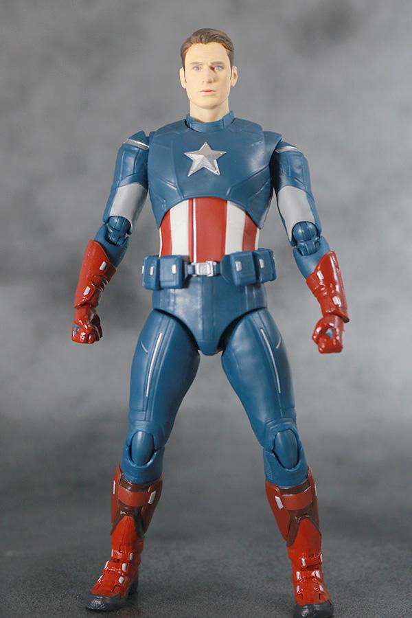 S.H.フィギュアーツ キャプテンアメリカ CAP VS CAP レビュー 本体