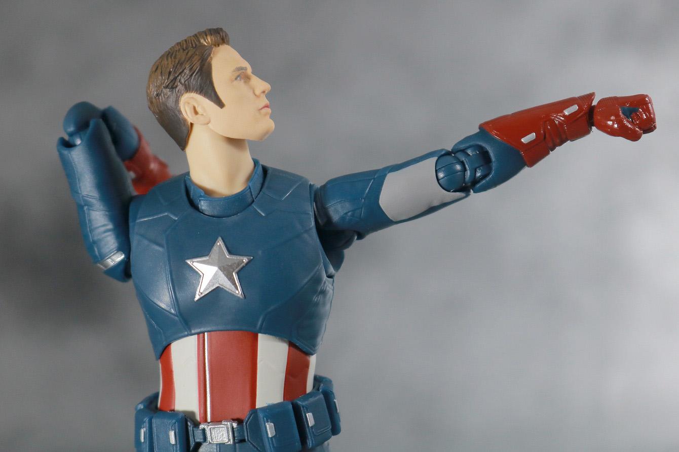 S.H.フィギュアーツ キャプテンアメリカ CAP VS CAP レビュー 可動範囲