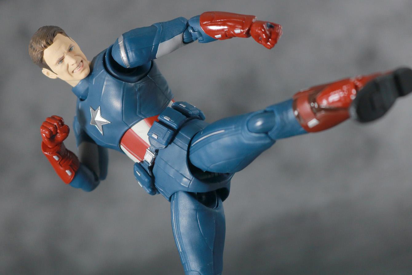 S.H.フィギュアーツ キャプテンアメリカ CAP VS CAP レビュー アクション