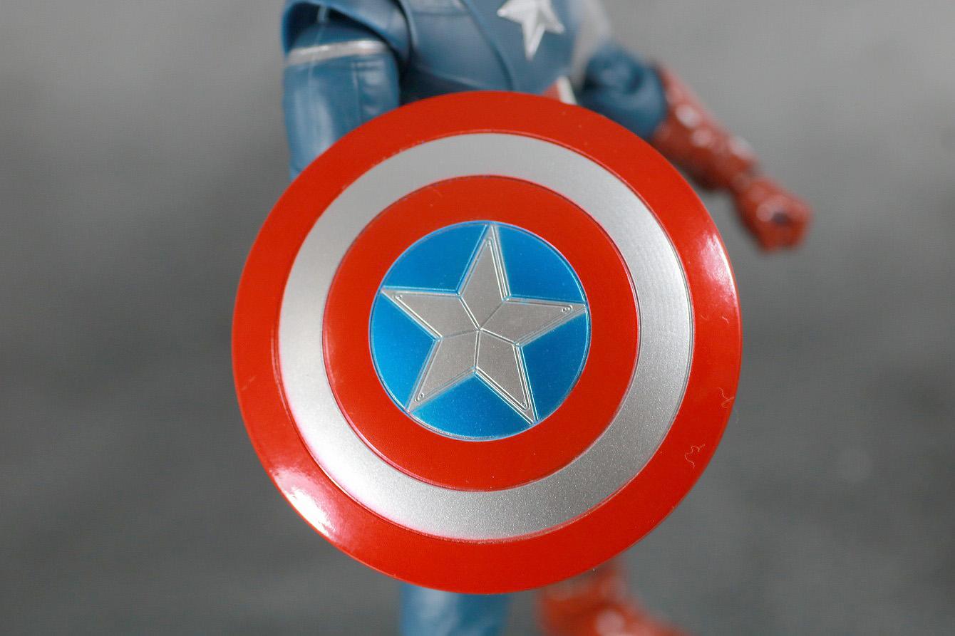 S.H.フィギュアーツ キャプテンアメリカ CAP VS CAP レビュー 付属品 シールド