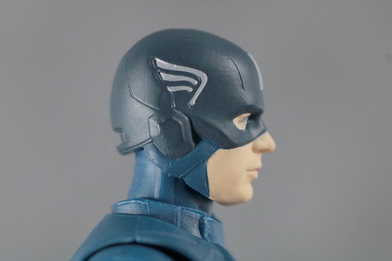 S.H.フィギュアーツ キャプテンアメリカ CAP VS CAP レビュー 付属品 マスクヘッド