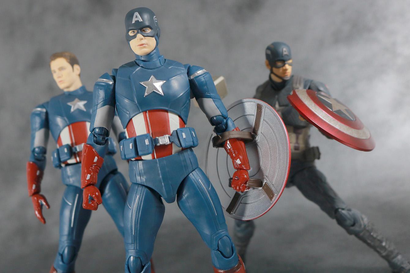 S.H.フィギュアーツ キャプテンアメリカ CAP VS CAP EDITION レビュー