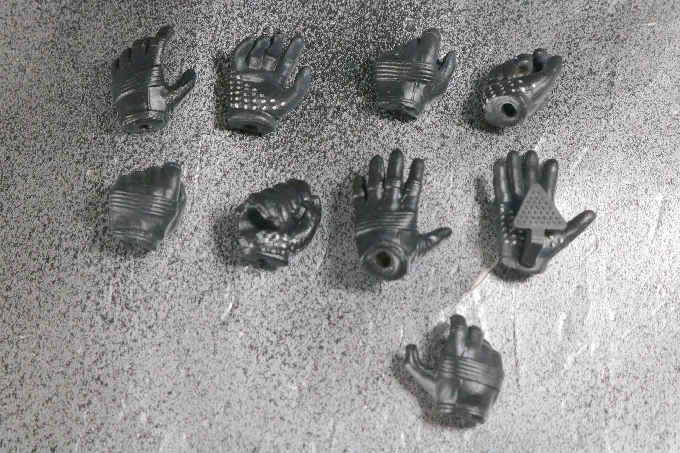 S.H.フィギュアーツ バットマン 1989 レビュー 付属品 手首パーツ