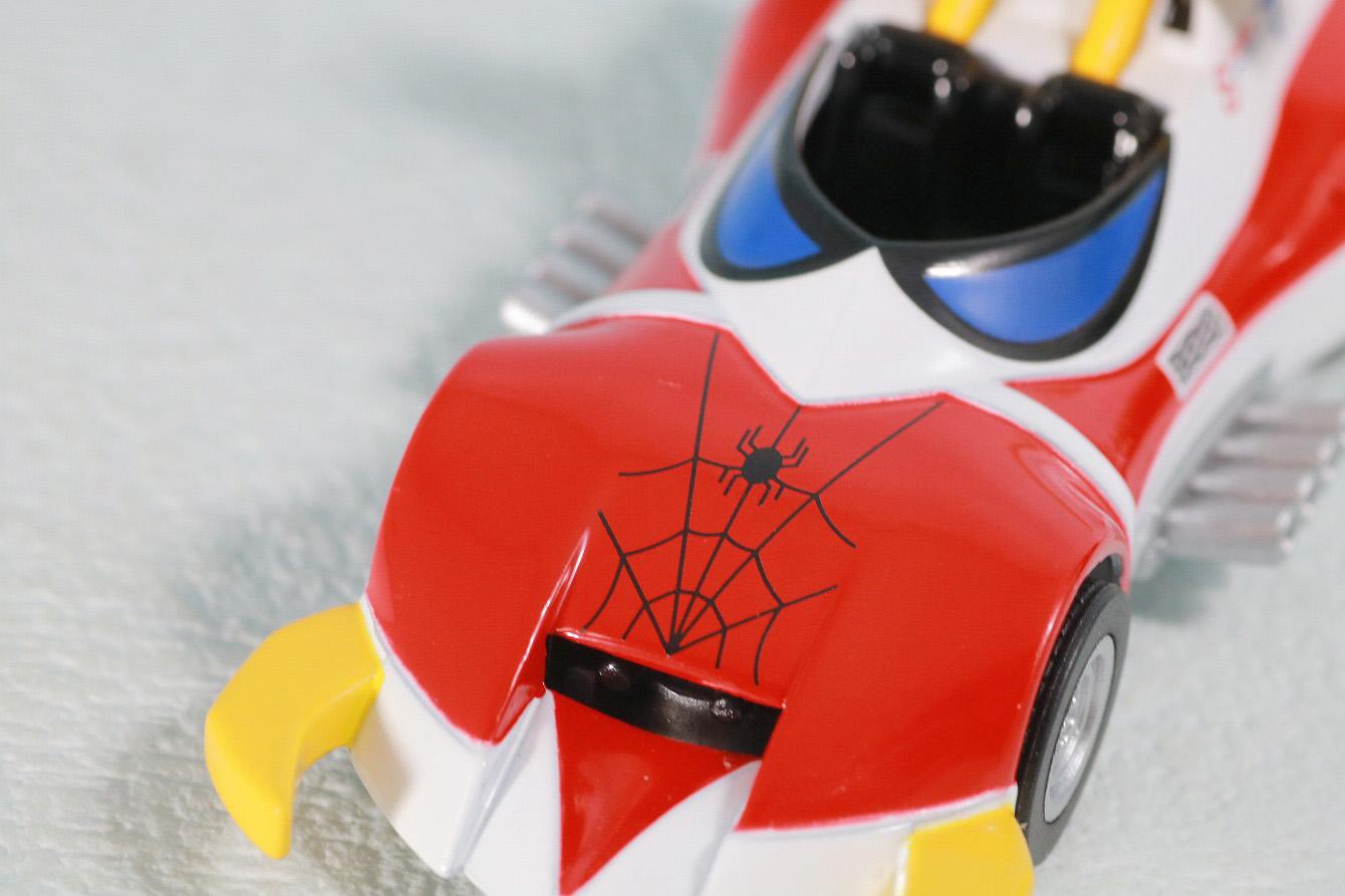 超合金魂レオパルドン&マーベラー召喚セット レビュー スパイダーマシンGP-7