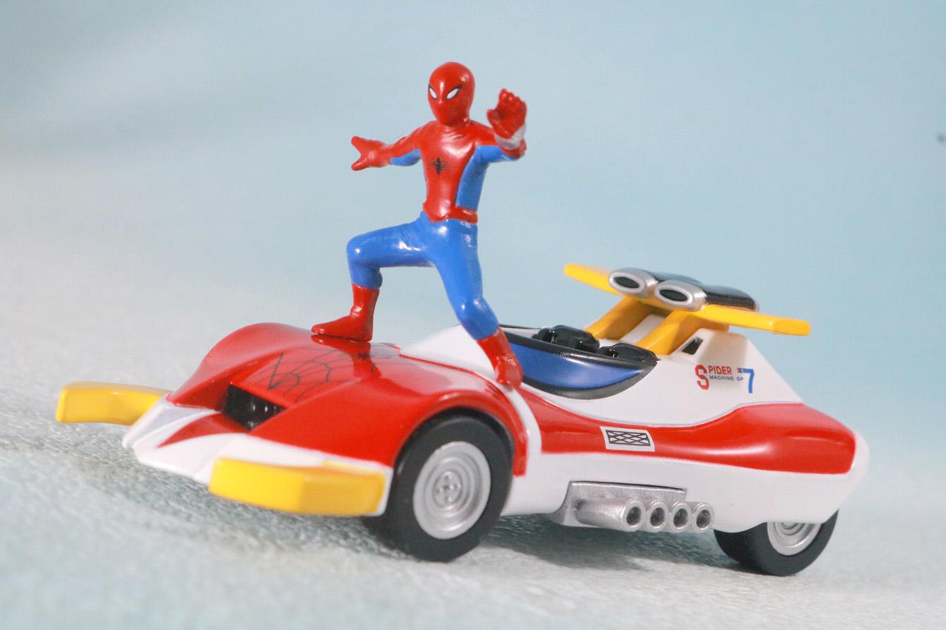 超合金魂レオパルドン&マーベラー召喚セット レビュー アクション スパイダーマシンGP-7