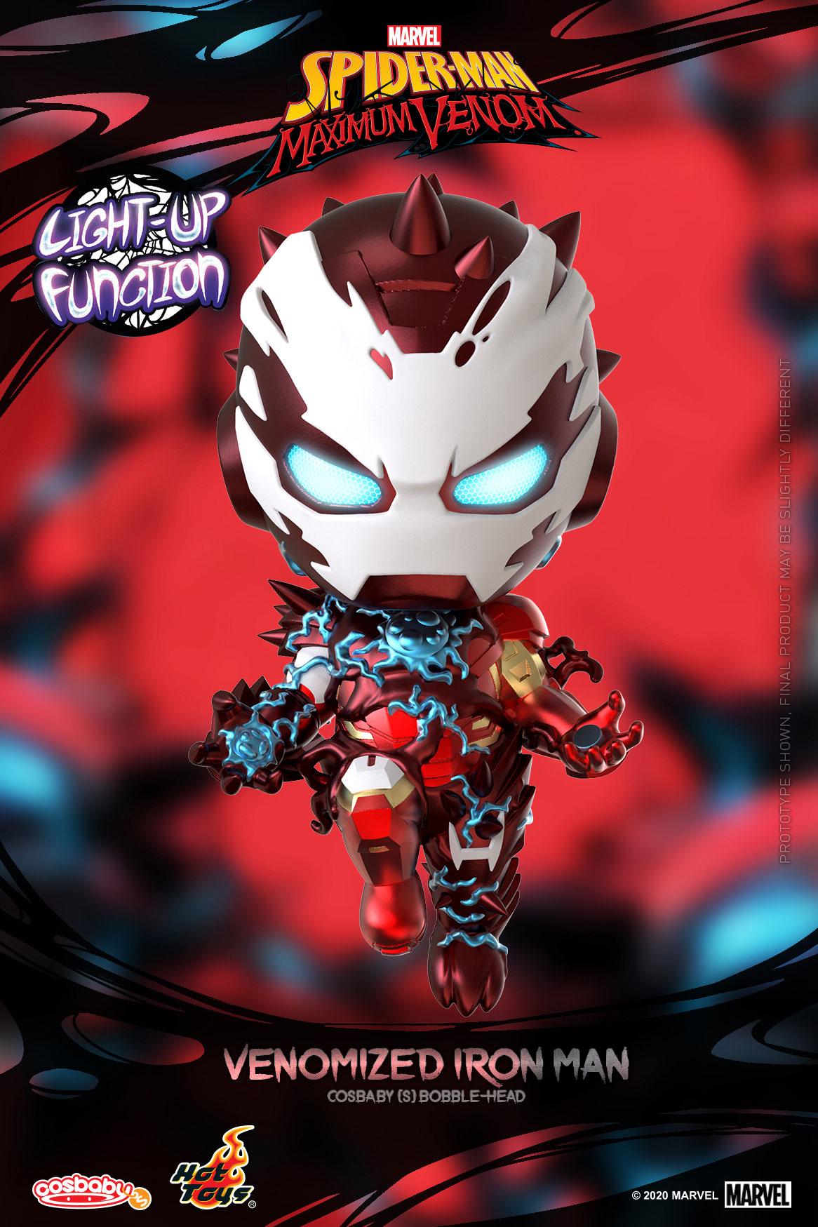 ■【コスベイビー】『スパイダーマン:マキシマム・ヴェノム』[サイズS]アイアンマン(ヴェノム版)