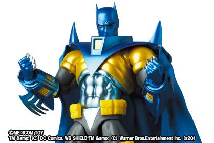 MAFEX新作!ナイトフォールバットマンが2021年9月に発売!特徴的なアーマーを再現!