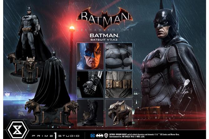 プライム1新作!『Batman Arkham Knight』からV7.43スーツバットマンが2022年4月に発売決定!