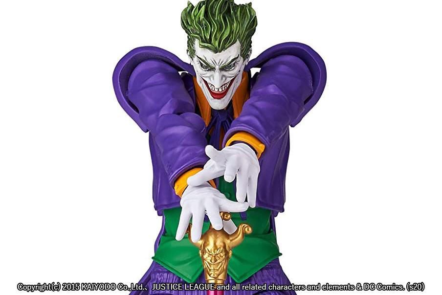 アメイジングヤマグチ新作!バットマン宿敵「ジョーカー」が2021年3月に発売!