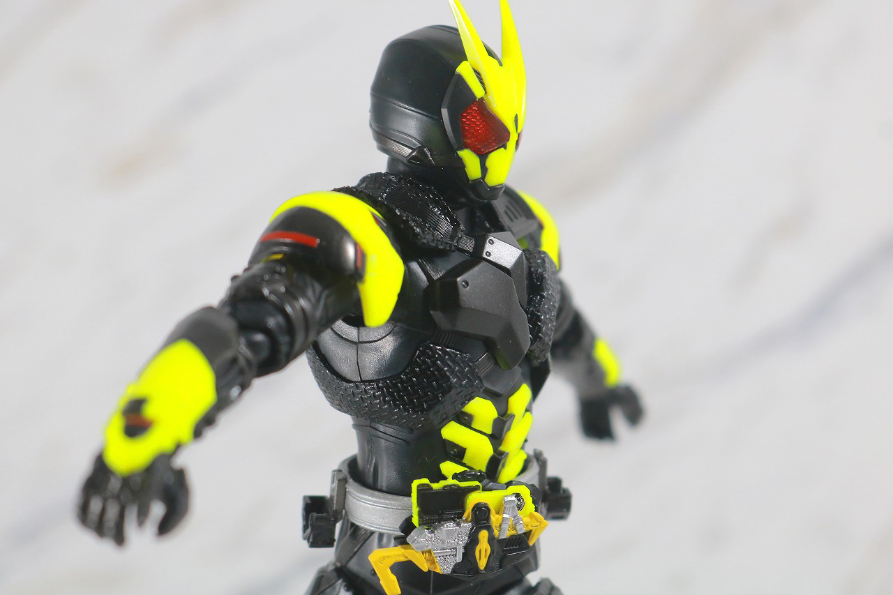 S.H.フィギュアーツ 仮面ライダー001 レビュー 可動範囲