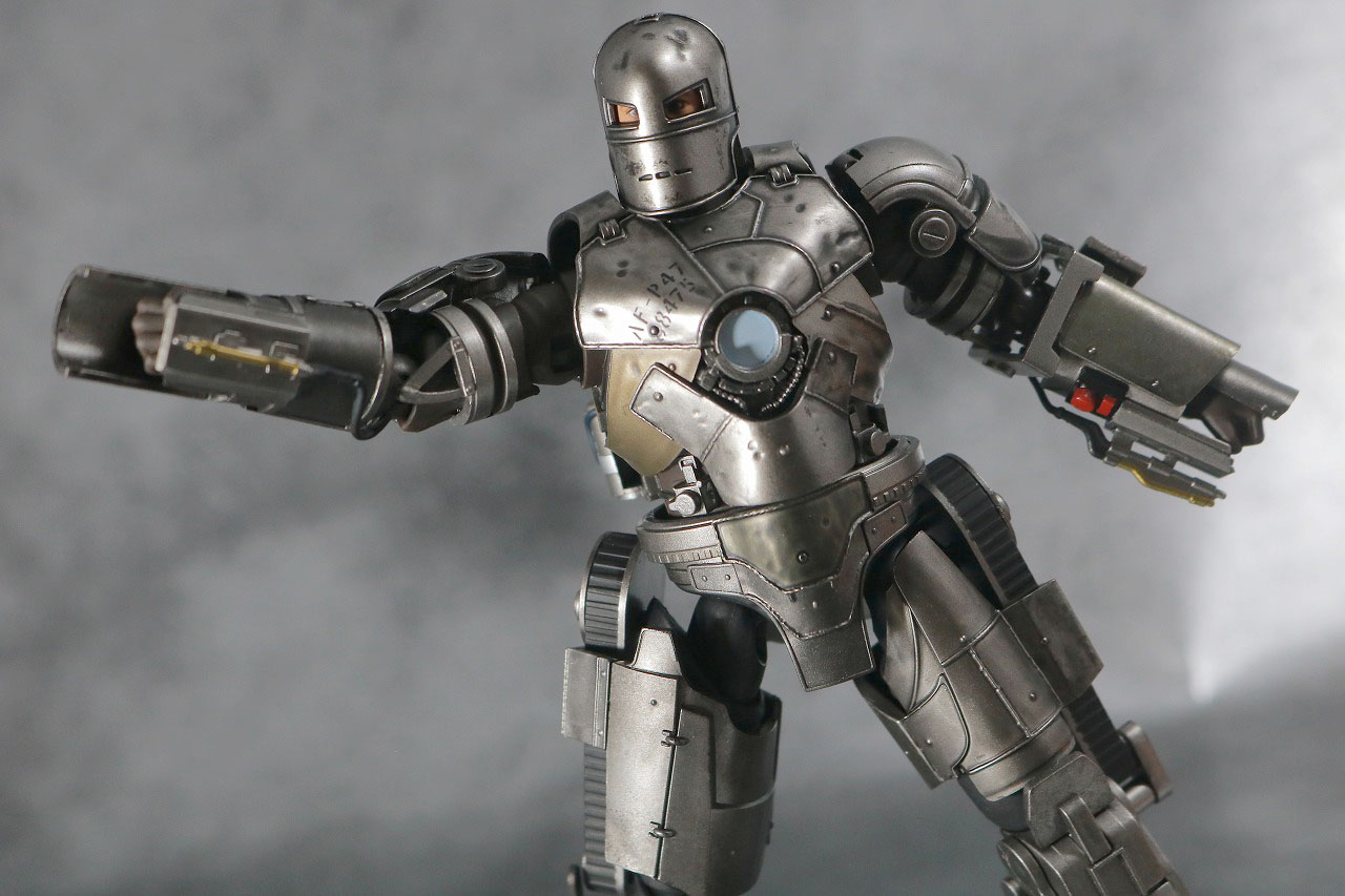 S.H.フィギュアーツ アイアンマン マーク1 レビュー アクション