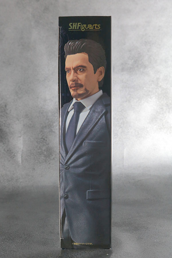 S.H.フィギュアーツ トニー・スターク Birth of Iron Man レビュー パッケージ