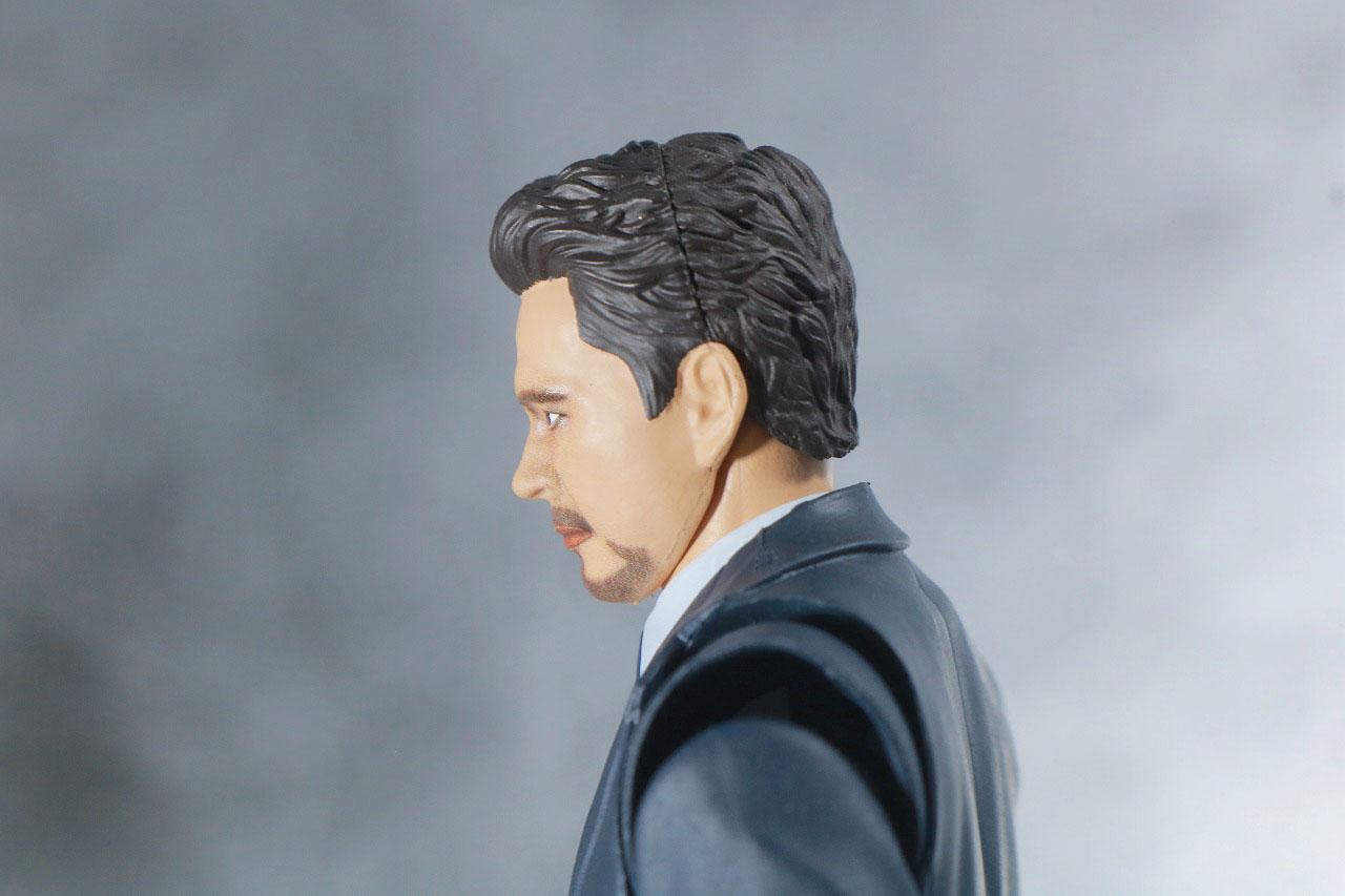 S.H.フィギュアーツ トニー・スターク Birth of Iron Man レビュー 可動範囲 スーツ