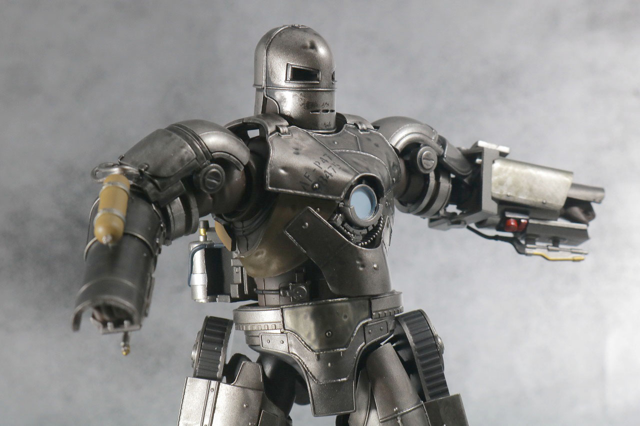 S.H.フィギュアーツ アイアンマン マーク1 レビュー 可動範囲