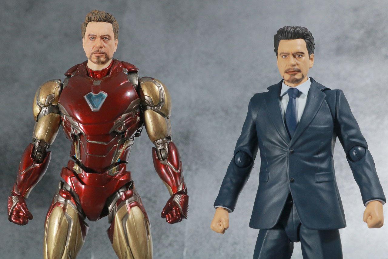 S.H.フィギュアーツ トニー・スターク Birth of Iron Man レビュー 全身 アイアンマン マーク85 比較