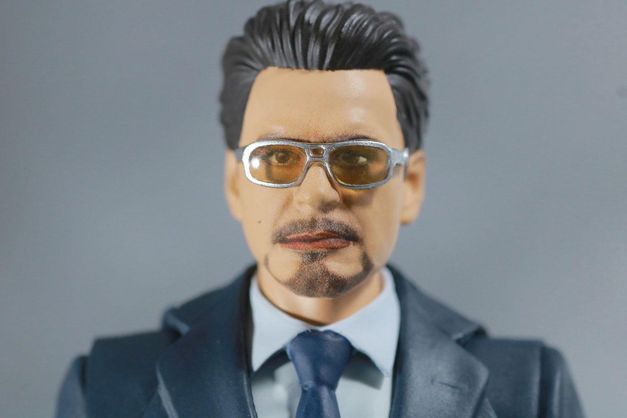 S.H.フィギュアーツ トニー・スターク Birth of Iron Man レビュー 付属品 サングラスヘッド