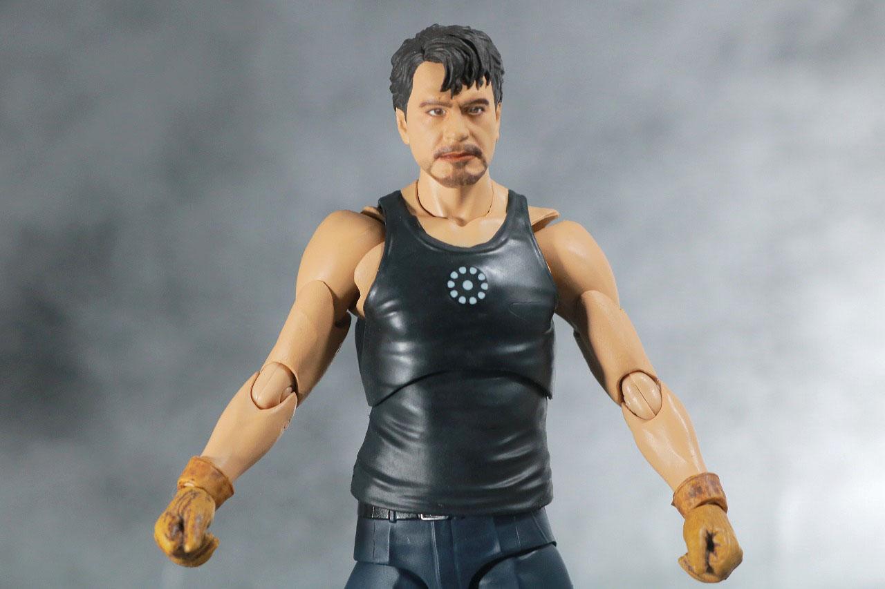 S.H.フィギュアーツ トニー・スターク Birth of Iron Man レビュー 可動範囲 製作シーン