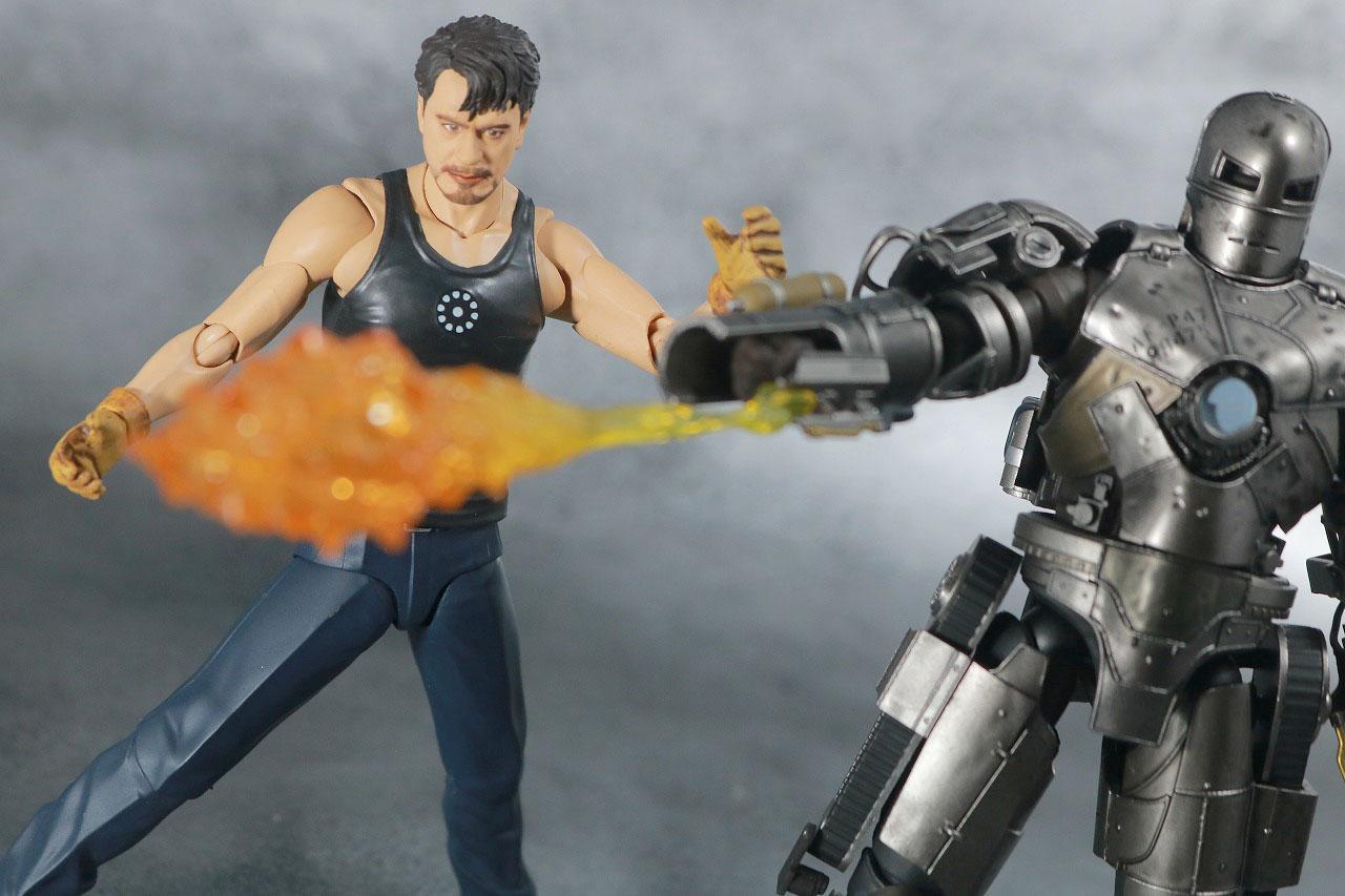 S.H.フィギュアーツ トニー・スターク Birth of Iron Man レビュー アクション 製作シーン