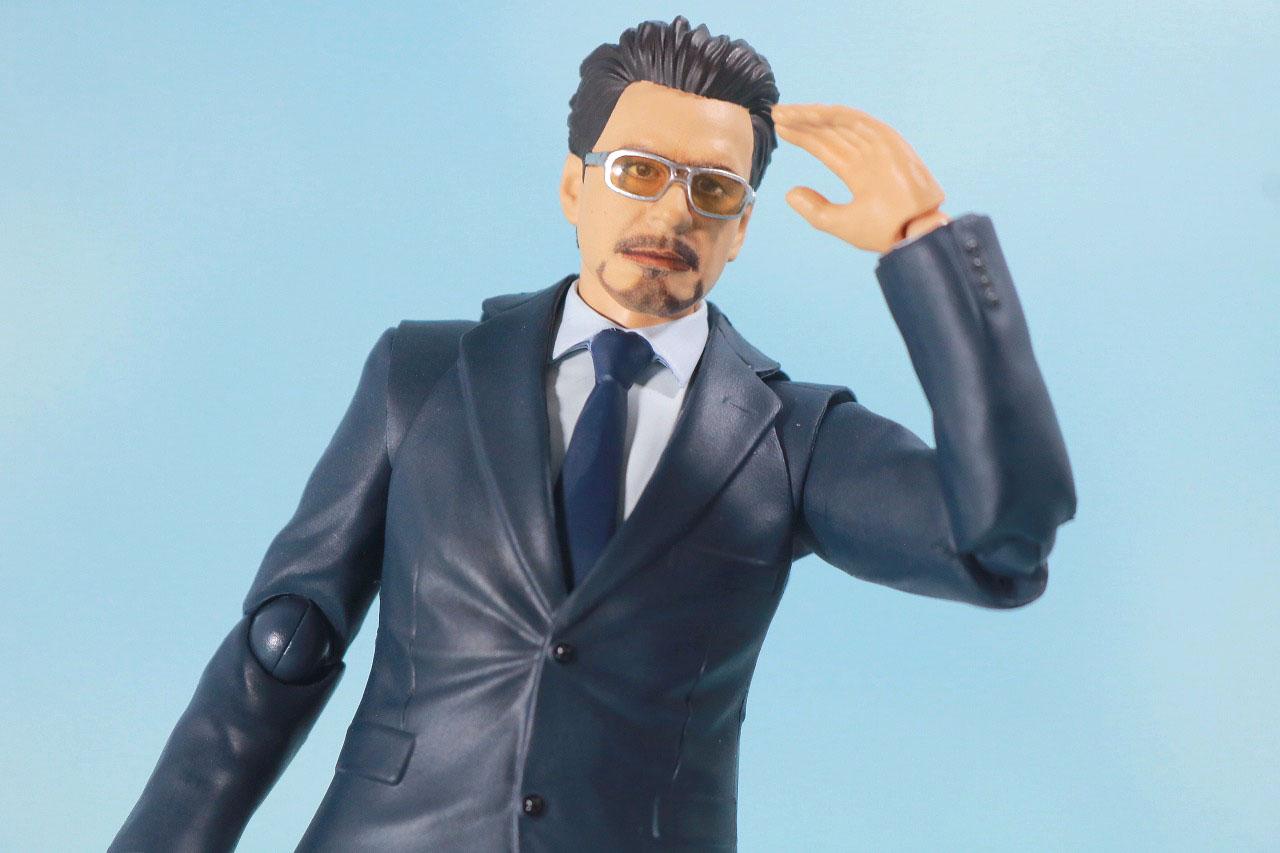 S.H.フィギュアーツ トニー・スターク Birth of Iron Man レビュー アクション スーツ